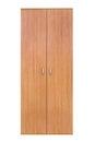 Modern wooden wardrobe Royalty Free Stock Photo