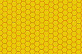 Modern yellow and orange hexagon background