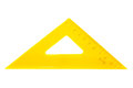 Modern yellow triangle Stock Photography