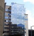 Moderne Gebäude, Frankreich Stockfotografie
