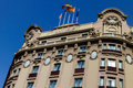 Modernist building in Barcelona