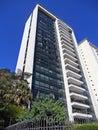 Modernist residential building in higienópolis district são paulo brazil Stock Image
