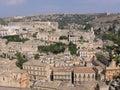 Modica cityscape Royalty Free Stock Image