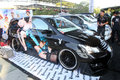 Modified cars on display in the city of solo central java indonesia Stock Photos