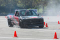 Modified pickup truck in autocross pomona usa march during rd annual street machine and muscle car nationals Stock Photos