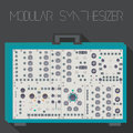 Modular synthesizer in suitcase format