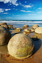 Moeraki Boulders, New Zealand Stock Photography
