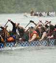 The MOFO Dragon Boat racing Royalty Free Stock Photography