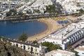 Mogan beach Royalty Free Stock Photo