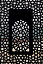 Moghul thomb window pattern Stock Image