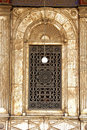 Mohamed Ali Mosque's window. Royalty Free Stock Images
