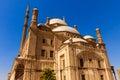 Mohamed ali mosque saladin citadel di il cairo egitto Fotografia Stock