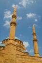 Mohammad Al-Amin Mosque Royalty Free Stock Photo