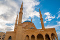 Mohammad Al-Amin Mosque Royalty Free Stock Photo
