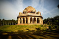 Mohammed shah s tomb in lodi gardens new delhi Royalty Free Stock Photo