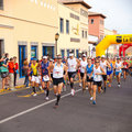 Moitié-marathon international d'IIIrd Fuerteventura Photographie stock libre de droits