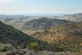 Mojave Desert vista from Ryan Mountain Royalty Free Stock Photo