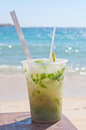 Mojito on the beach Royalty Free Stock Image