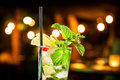 Mojito cold ready to drink Royalty Free Stock Images