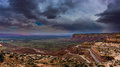 Moki Dugway Overlook Royalty Free Stock Photo
