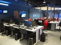 05.04.2015, MOLDOVA, Publika TV NEWS television studio office