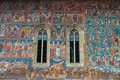 Moldovita Monastery Painting Detail Royalty Free Stock Photo