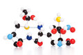 Molecular atom model Royalty Free Stock Photo