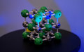 Molecular structure and bonding model Royalty Free Stock Image