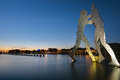 Molecule Men in Berlin Royalty Free Stock Photography