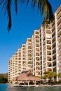 Molina De Agua beach condos Royalty Free Stock Photo