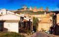 Molina de Aragon with castle Royalty Free Stock Photo