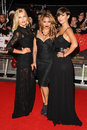 Mollie king frankie sanford vanessa white and arriving for the the twilight saga breaking dawn part premiere at the odeon Royalty Free Stock Photos