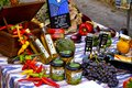Mollorca market table pretty in mallorca Royalty Free Stock Photo