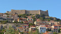 Molyvos castle and village Lesvos