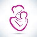 Mamička a dieťa ikona
