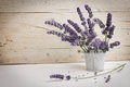 Moment of relaxation with lavender Royalty Free Stock Photo