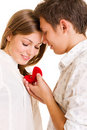Moment romantique Images libres de droits