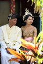Indonesian wedding Royalty Free Stock Photo