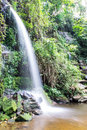 Mon tha than waterfall in doi suthep pui national park chiangmai Royalty Free Stock Photography