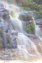 Mon tha than waterfall in doi suthep pui national park chiangmai Royalty Free Stock Image