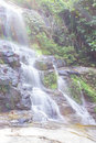 Mon tha than waterfall in doi suthep pui national park chiangmai Stock Images