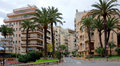 Monaco architecture of residential buildings monte carlo april on april in monte carlo all in Stock Photography