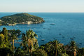 Monaco bay view with wonderful yachts and mediterranean sea Royalty Free Stock Image