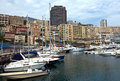 Monaco cityscape and harbor monte carlo may hercules on may in monte carlo Stock Photography