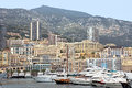 Monaco cityscape and harbor monte carlo may hercules on may in monte carlo Royalty Free Stock Photography