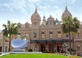 Monaco grand casino monte carlo may front of the on may in monte carlo the is one of the most notable buildings in Royalty Free Stock Photography