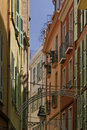 Monaco, picturesque old town Stock Images