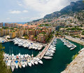 Monaco port de fontvielle Royalty Free Stock Photos