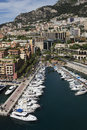 Monaco - Port of Fontvieille Royalty Free Stock Image