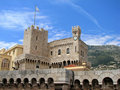 Monaco - Prince's Palace Royalty Free Stock Photo